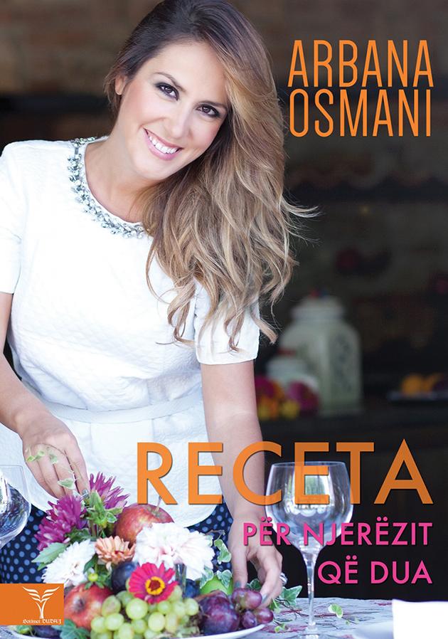 Libri Receta për njerëzit që dua - Arbana Osmani